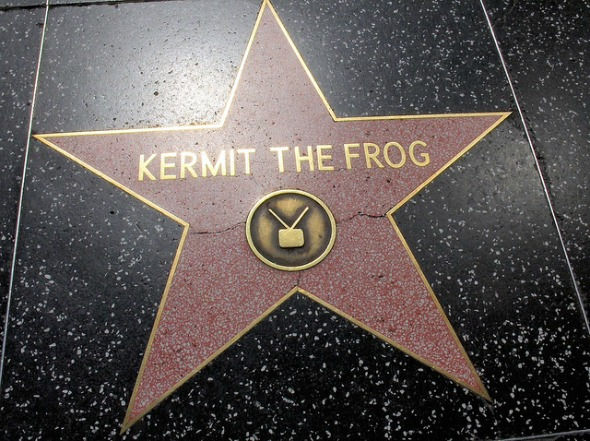 Hollywood Star - Kermit The Frog